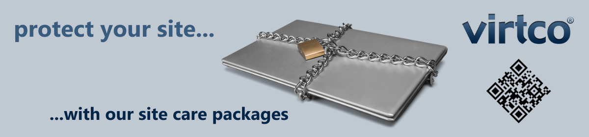 Protect your site with our WordPress Site Care packages.